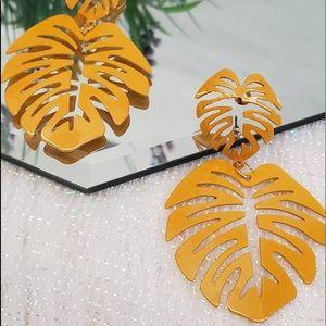 Palma Mustard Earrings